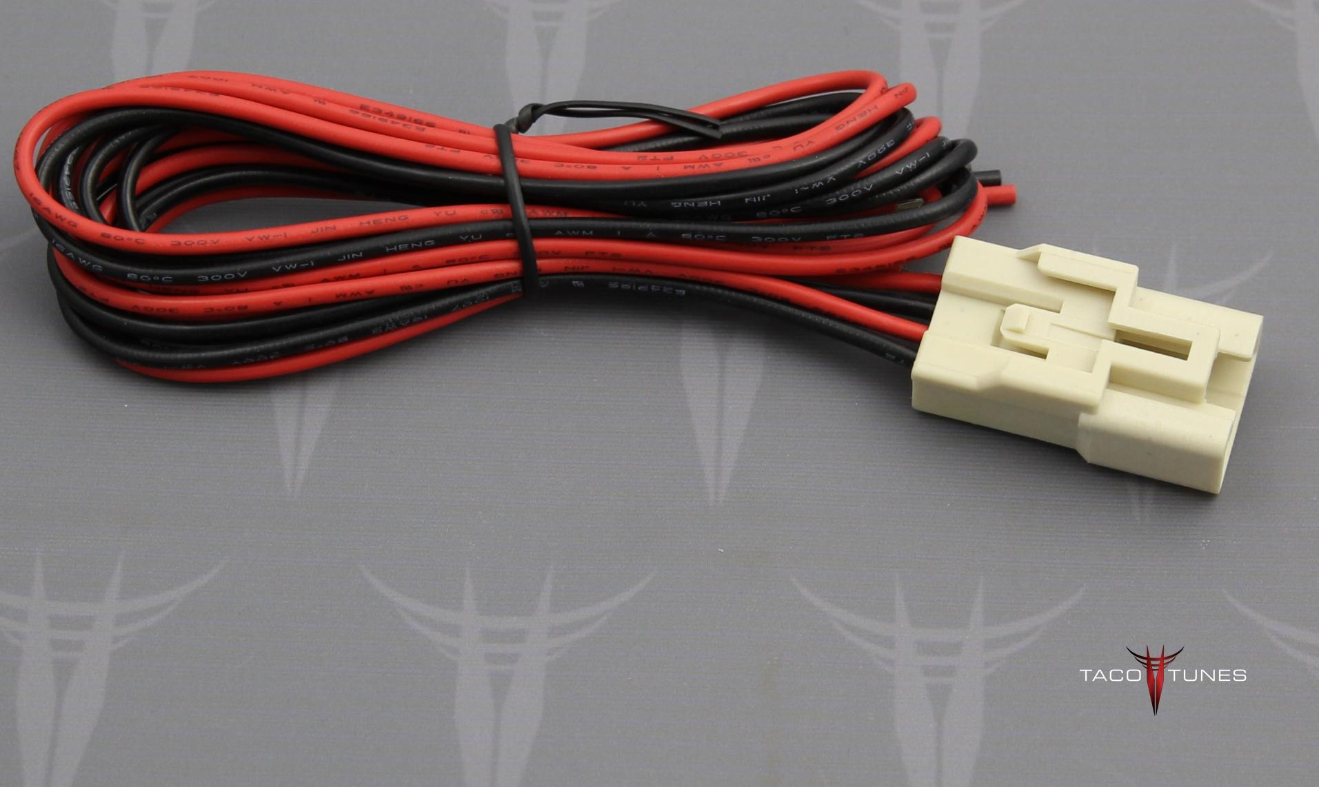 Toyota camry tweeter wire harness adapters