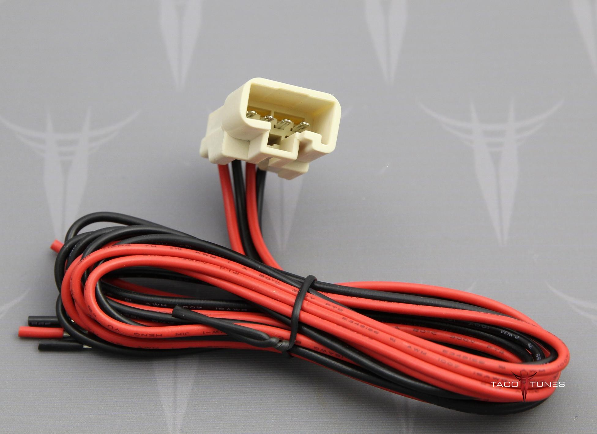 2002 2006 toyota camry tweeter wire harness adapters. Black Bedroom Furniture Sets. Home Design Ideas