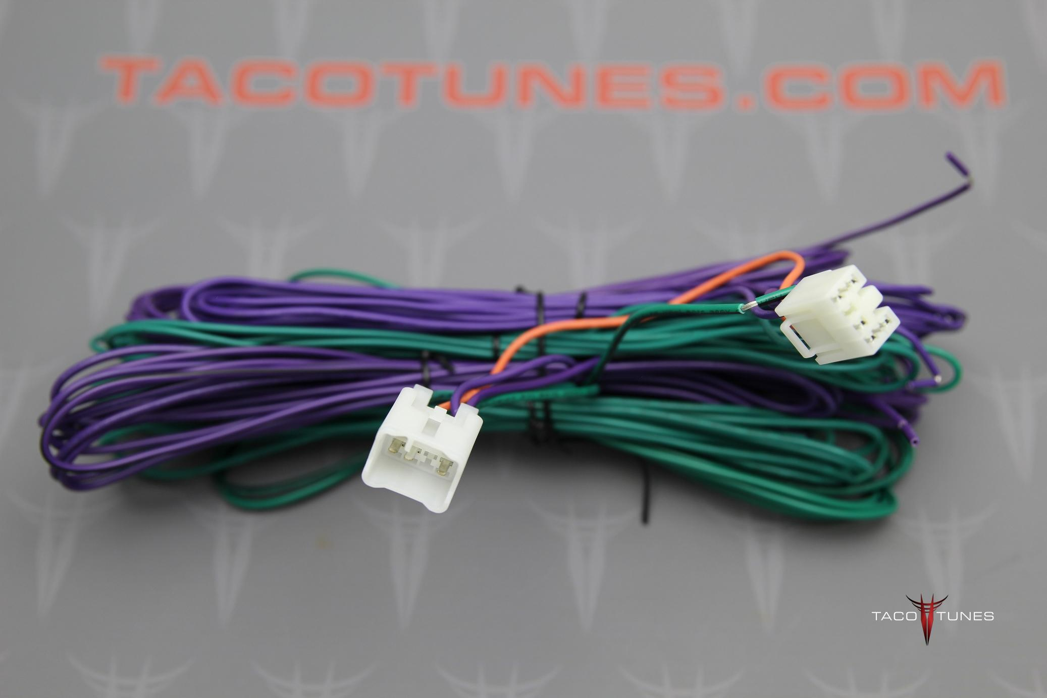 4runner Plug Play Amp Harness Installation Kit Taco Tunes Power Head Wiring Toyota Tacoma And