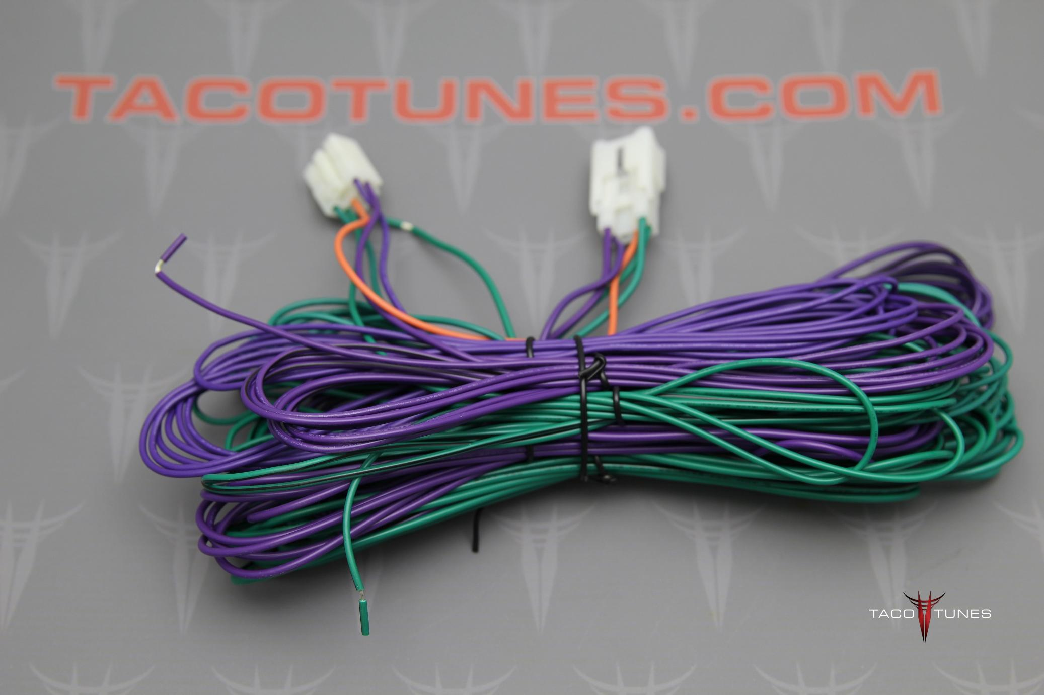Tacoma Plug Play Amp Harness Installation Kit Taco Tunes Wire T Style Toyota And
