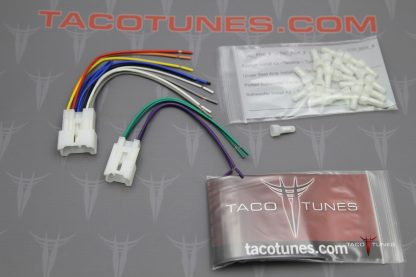 Toyota Tacoma Stereo Harness Adapter Install aftermarket stereo