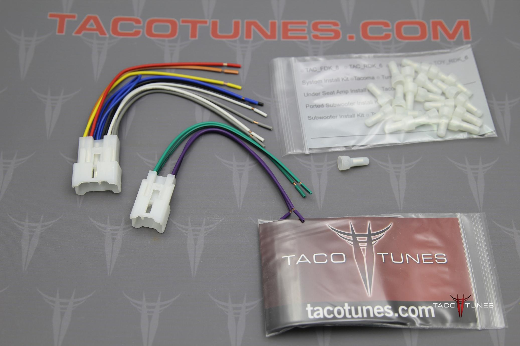 Wiring Rear Subwoofer Diagram Jbl System 2015 - 17 Camry from tacotunes.com