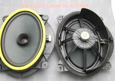 2007-2014 Toyota FJ Cruiser Stock Front 6x9 speakers