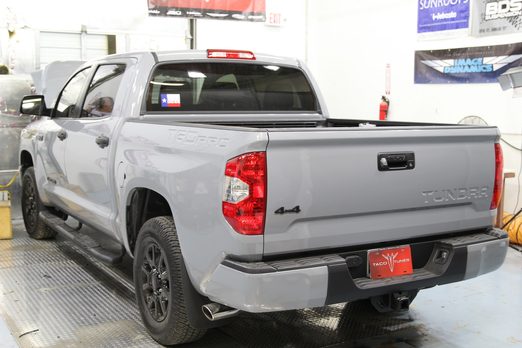 2017 Toyota Tundra Trd Pro Cement Indoor Pictures Taco