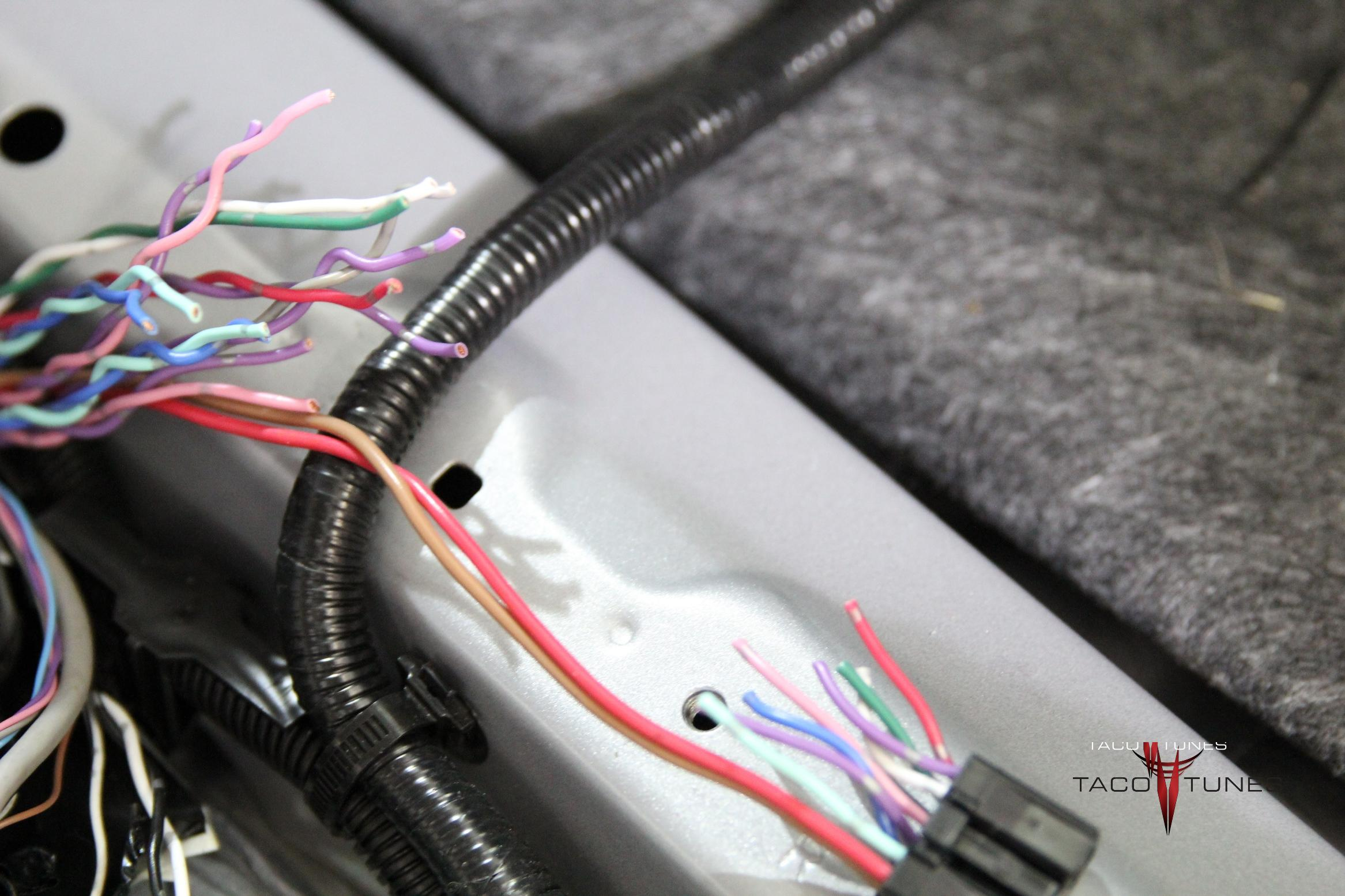 JBL Harness Repair Process Step 2 tundra jbl harness repair process taco tunes toyota audio what is the process for repairing wires in a harness at n-0.co