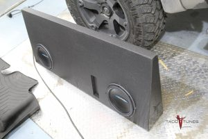 """Toyota Tundra CrewMax 12"""" Full Size Subwoofer"""