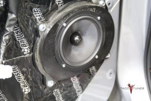 Toyota Tundra Front Door Image Dynamics CXS64 Component Speakers