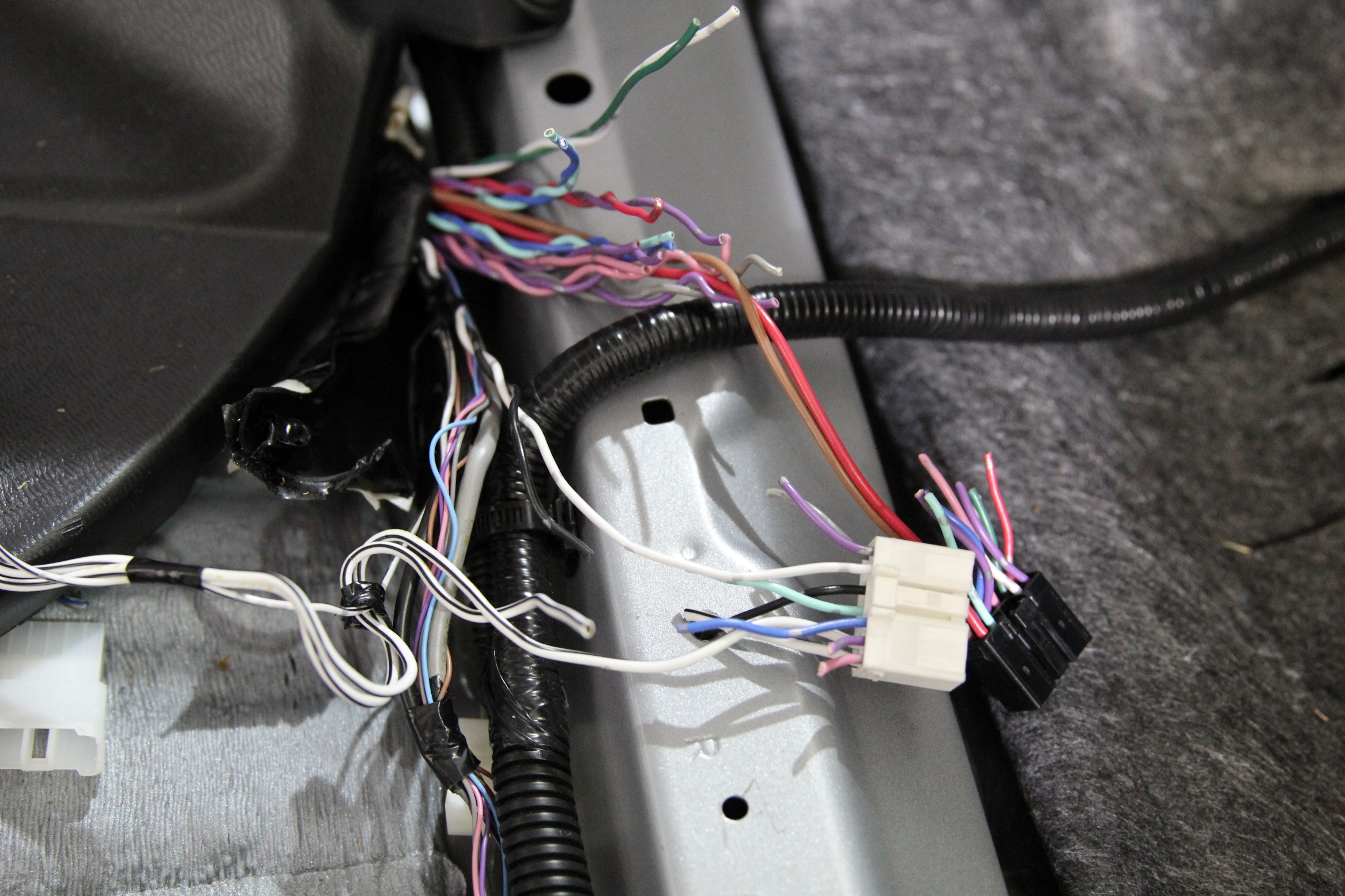 Toyota Tacoma Jbl Wiring Harness Solutions Guys Tundra Repair And Audio System Re Makeover