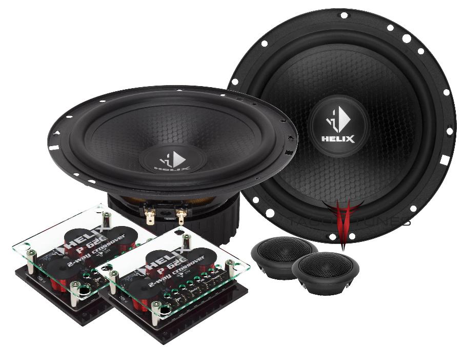 Helix Precision P62C Component Speakers  Toyota Tundra