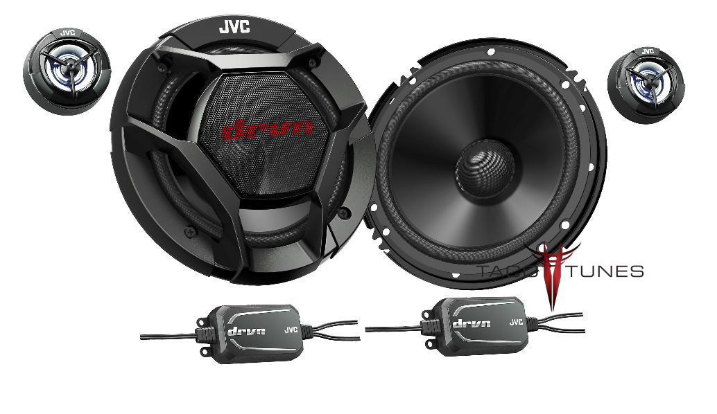 JVC CS-DR600C Component Speakers  Toyota Tundra