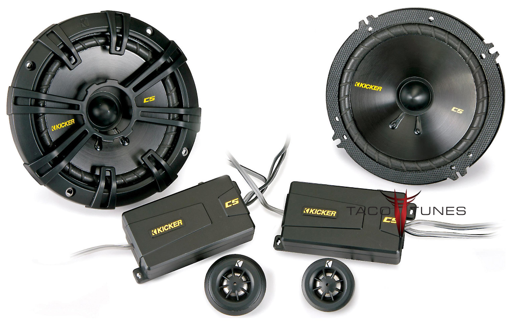 Kicker 40CSS654 Component Speakers  Toyota Tundra