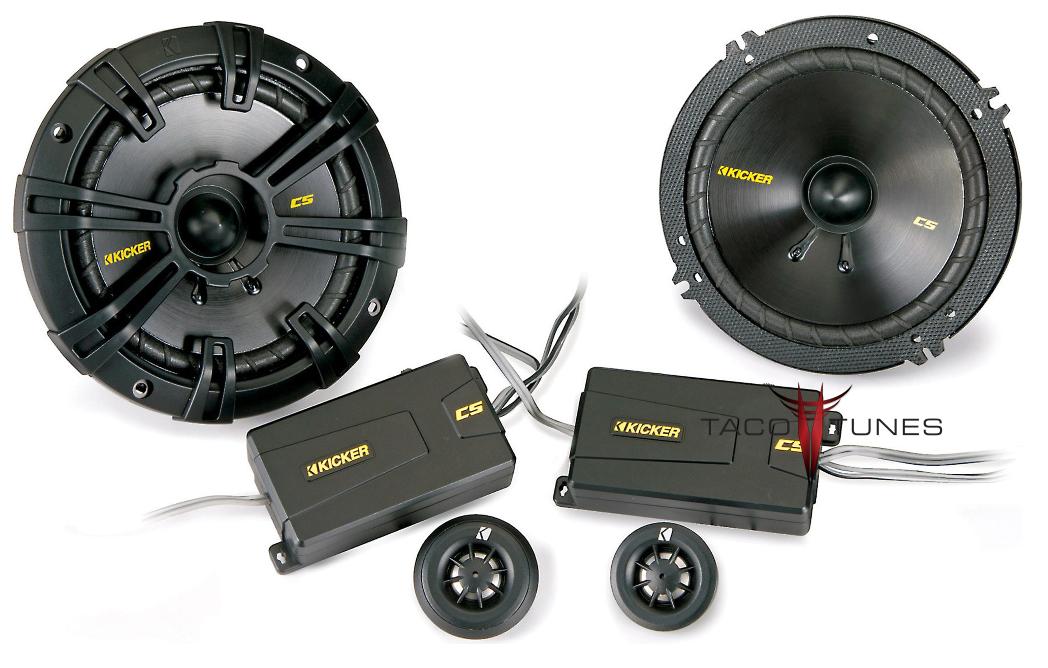 Kicker 40CSS654 Component Speakers Toyota Tacoma