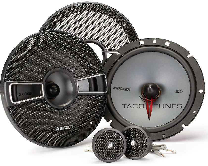 Kicker 41KSS674 Component Speakers  Toyota Tundra