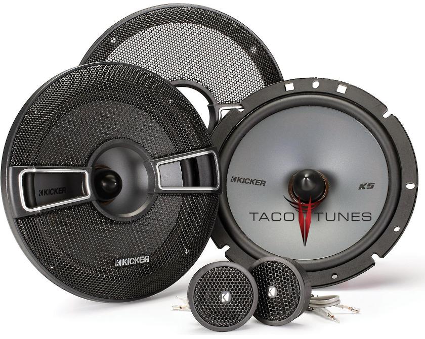 Kicker 41KSS674 Component Speakers Toyota Tacoma