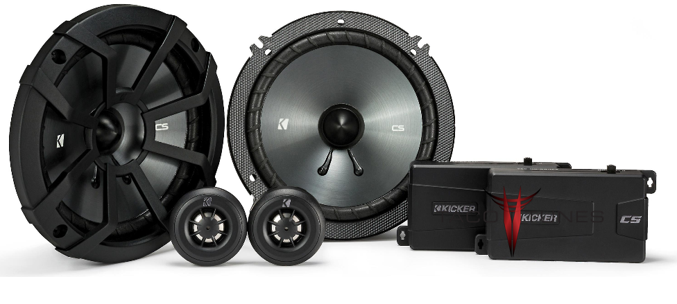 Kicker 43CSS654 Component Speakers  Toyota Tundra