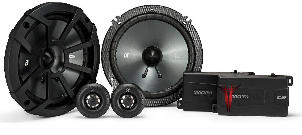 Kicker 43CSS654 Component Speakers Toyota Tacoma