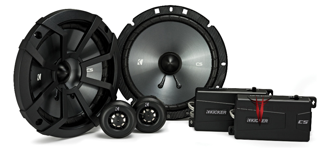 Kicker 43CSS674 Component Speakers Toyota Tacoma