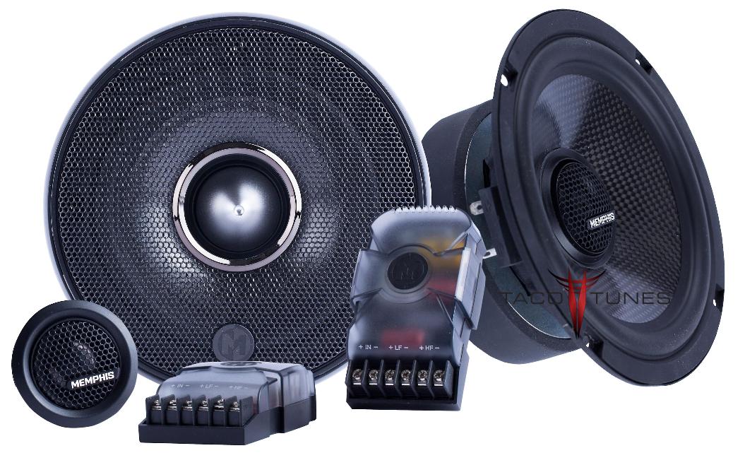 Memphis Audio 15-MCX60C Component Speakers Toyota Tacoma