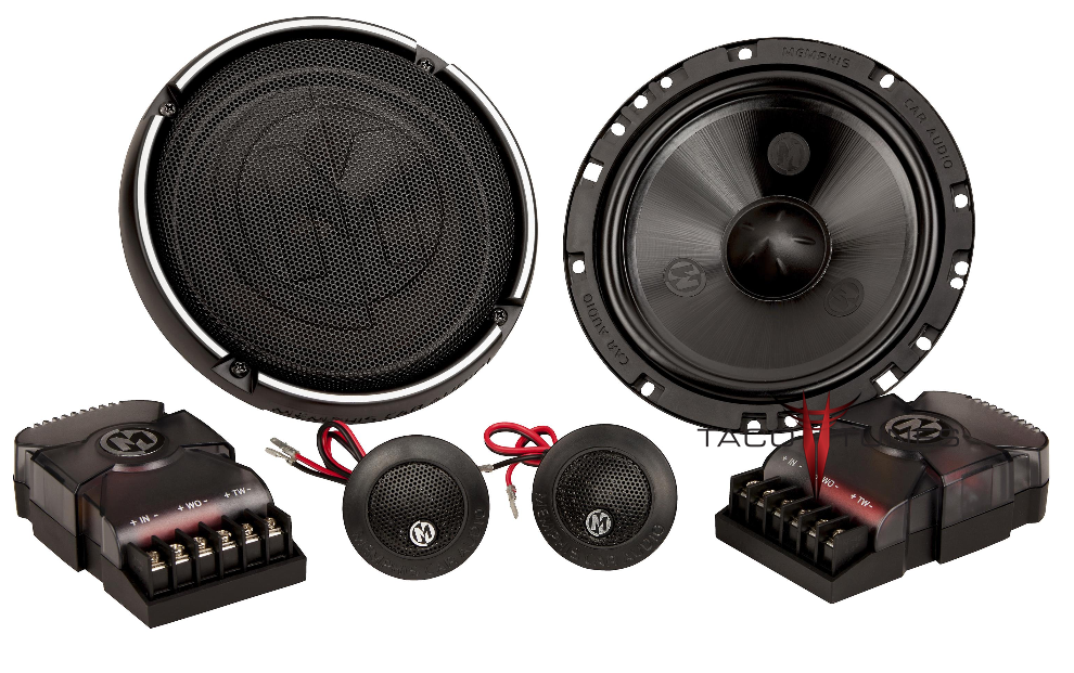 Memphis Audio 15-PRX6C Component Speakers Toyota Tacoma