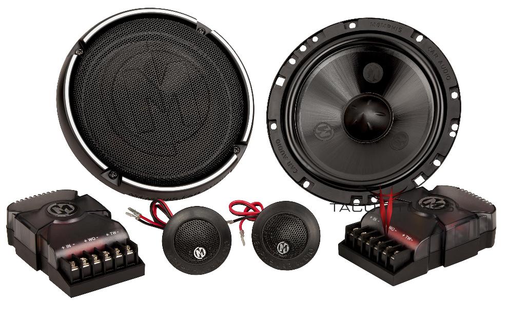 Memphis Audio 15-PRX6C Component Speakers  Toyota Tundra