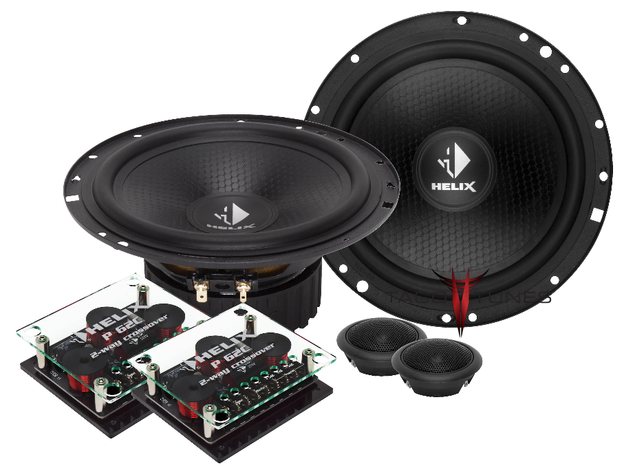 Helix Precision P62C Component Speakers Toyota Camry