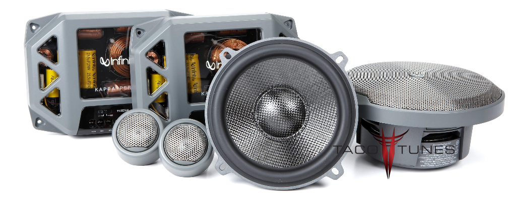 Infinity Kappa Perfect 600 Component Speakers Toyota Camry