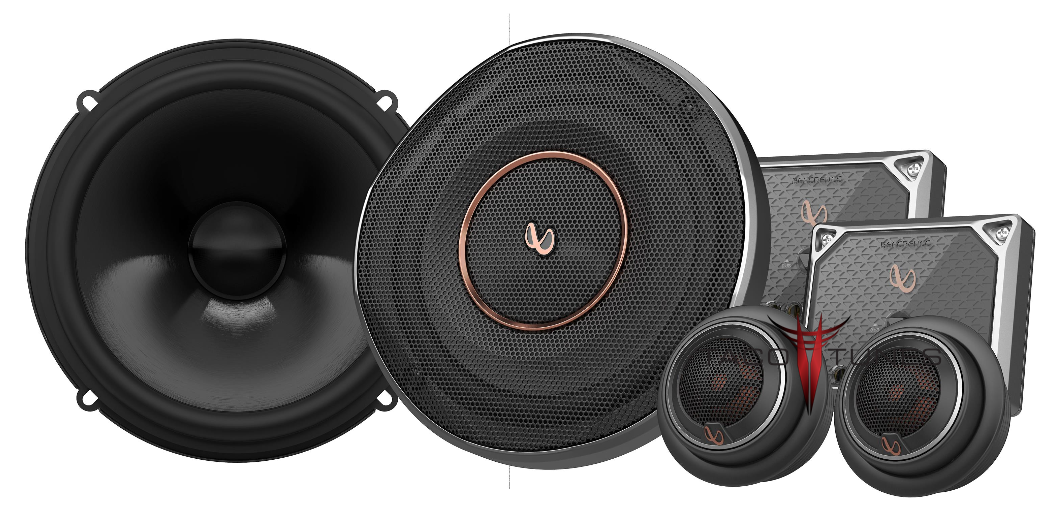 Infinity Reference REF-6520cx Component Speakers Toyota Camry