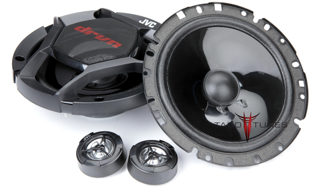 JVC CS-DR1700C Component Speakers Toyota Camry