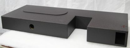 toyota tundra double cab ported subwoofer box front downfire