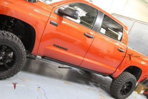 Toyota Tundra Stock Tacotunes Plug and Play Amplifiers.