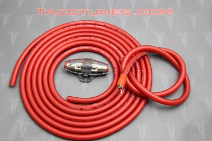 tacotunes.com TXD Amp Kit 4G Power Wire