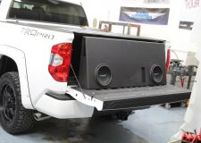 "Toyota Tundra CrewMax Subwoofer Upgrade / Installation – FULL SIZE 10"" Subs"