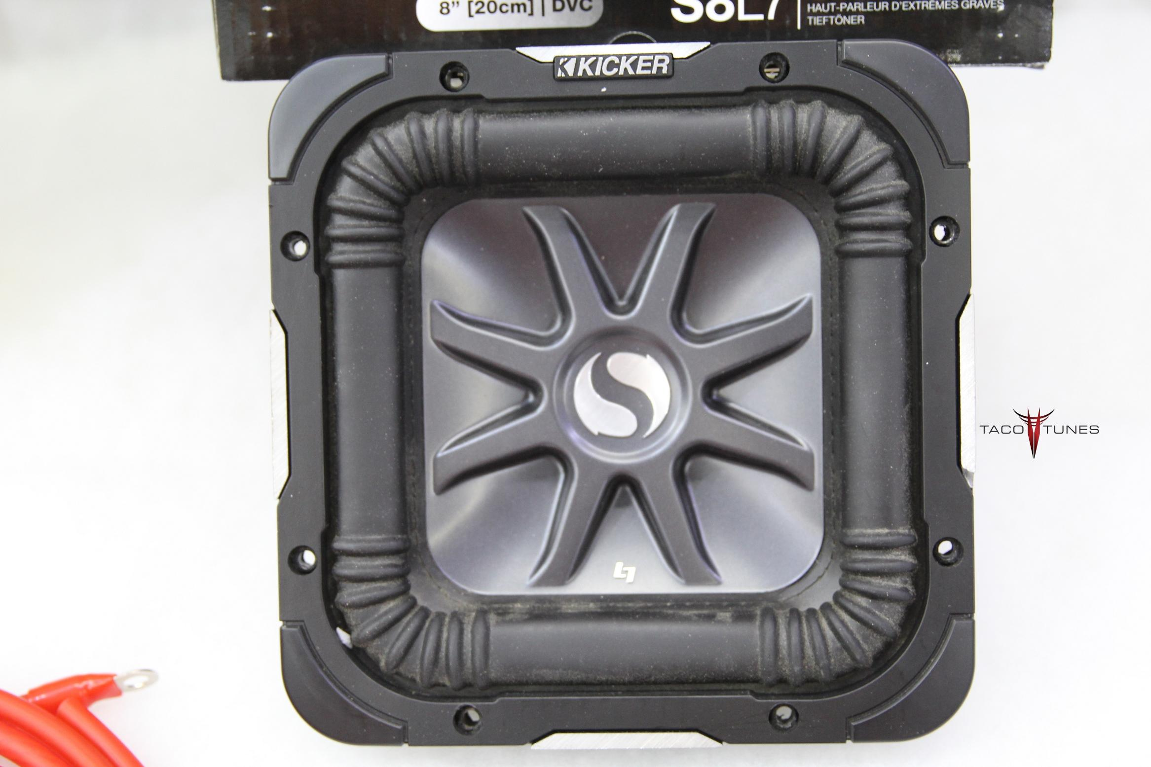Toyota Tacoma Add A Subwoofer Packaged System Kicker L7 Bass Station Wiring Harness