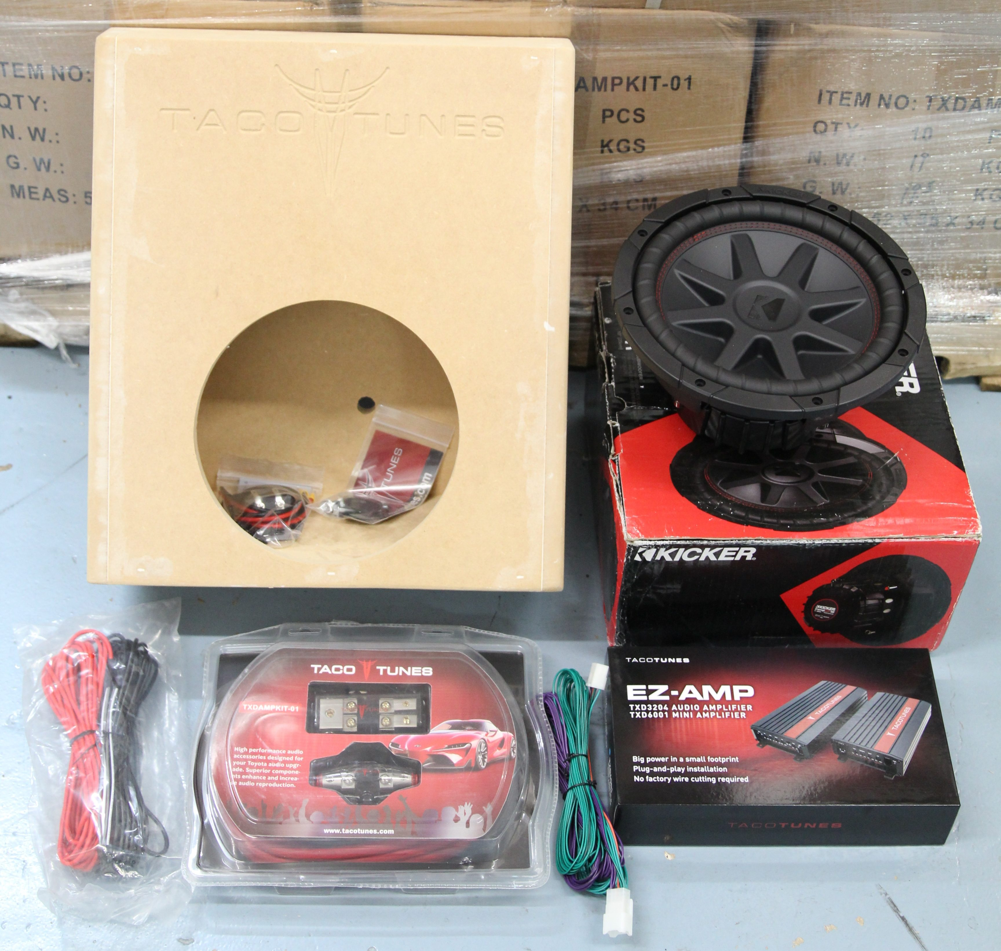 Admirable Toyota Tacoma Add A Subwoofer Packaged System Kicker Comp Vr 10 Wiring Digital Resources Funapmognl
