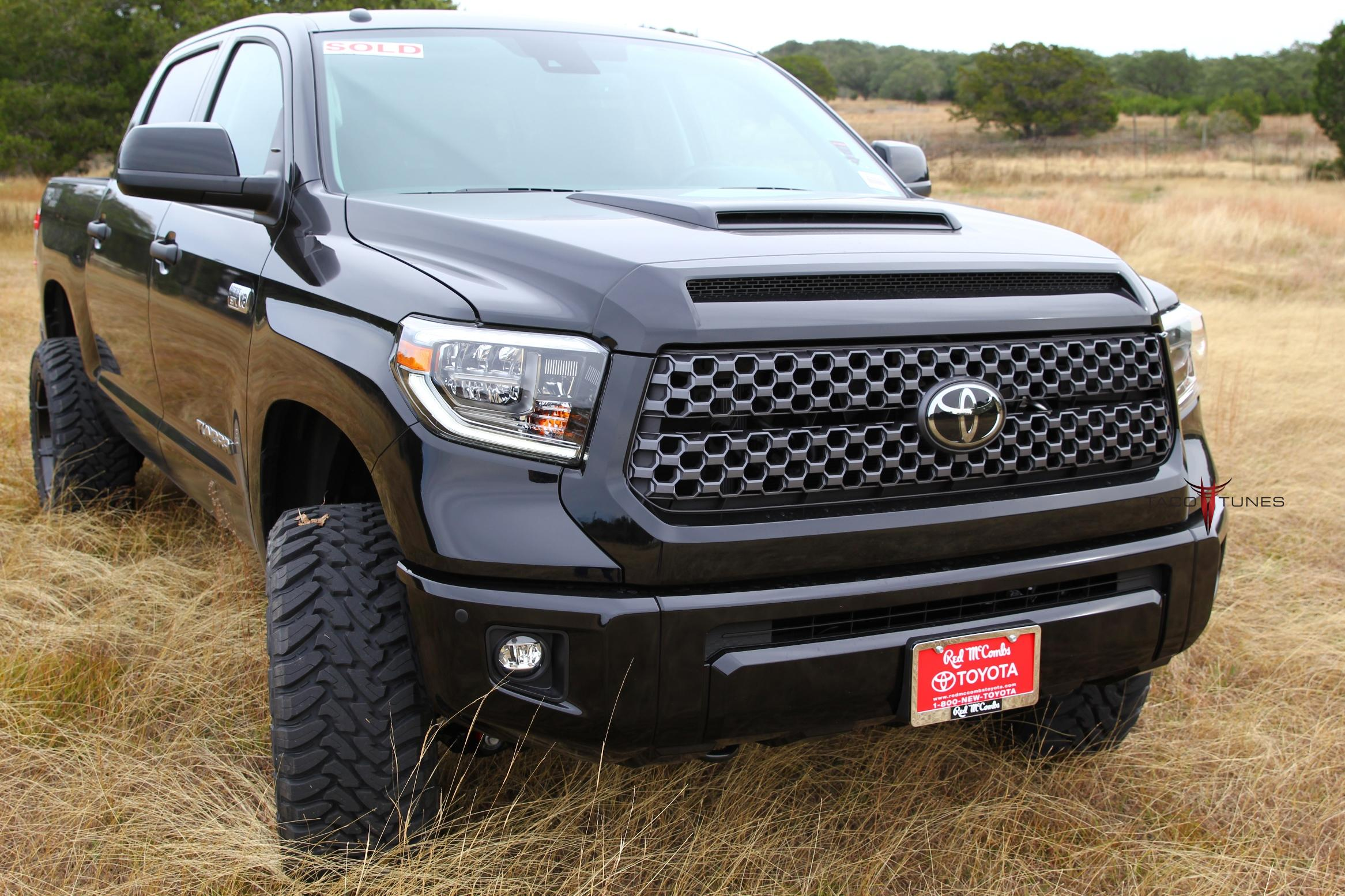 2018 toyota tundra trd sport 4x4 11 taco tunes toyota audio solutions. Black Bedroom Furniture Sets. Home Design Ideas