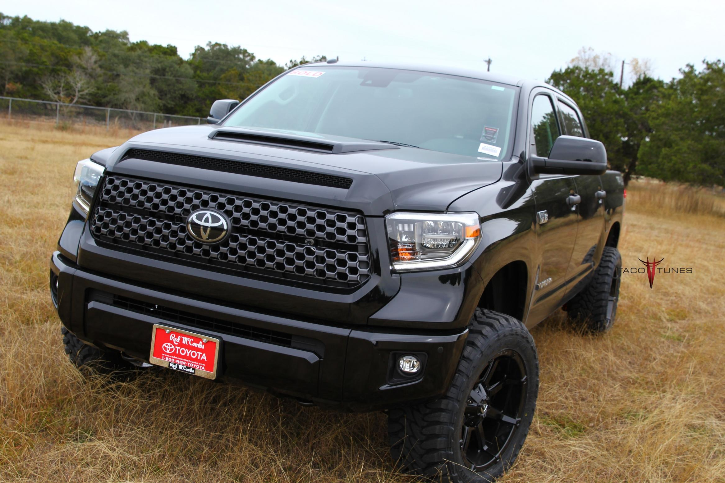 2018 toyota tundra trd sport 4x4 14 taco tunes toyota audio solutions. Black Bedroom Furniture Sets. Home Design Ideas