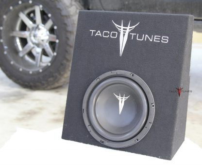 Toyota Tacoma Subwoofer Box Front View 3