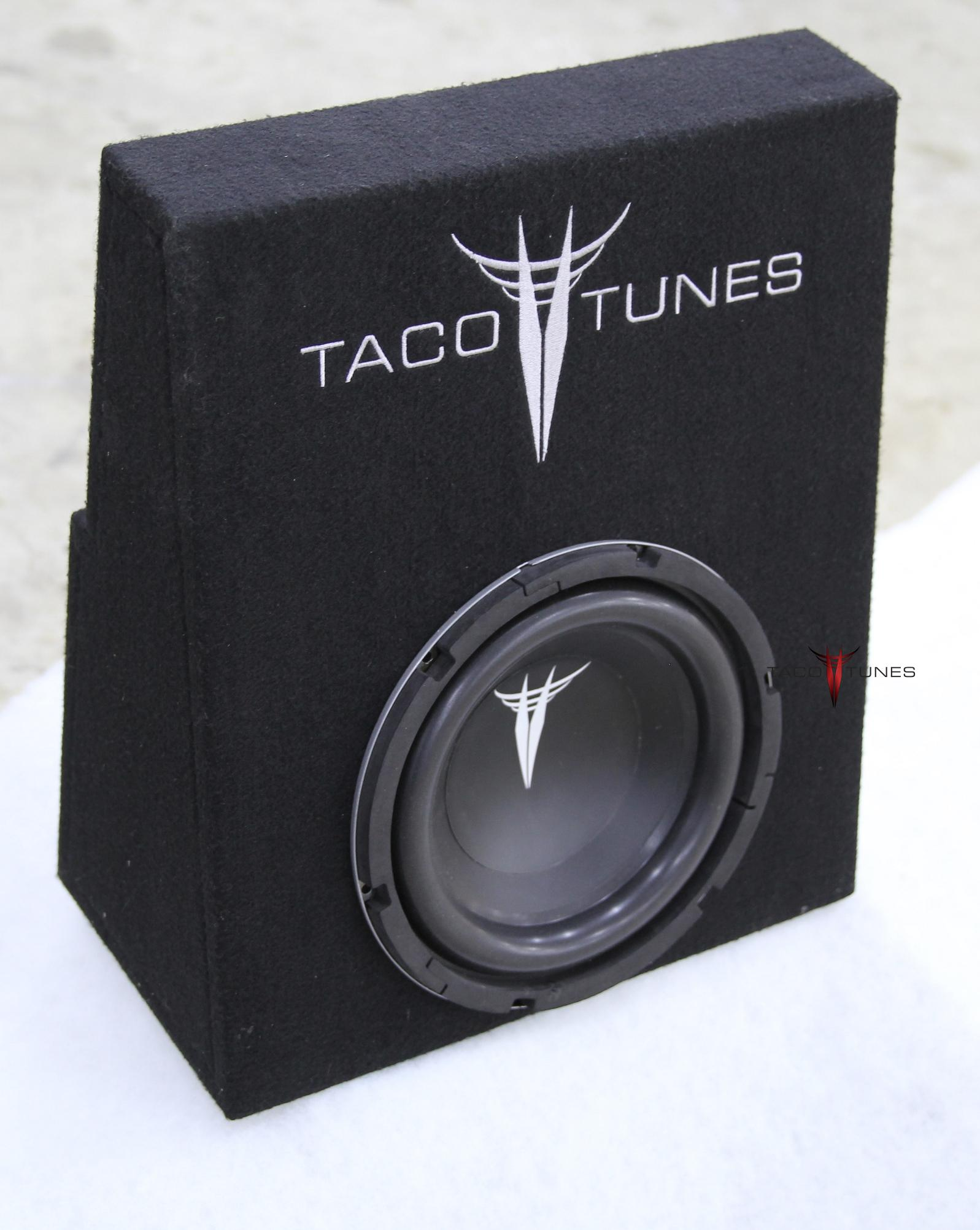 Tacoma 10 Subwoofer Box And Packaged 2005 2018 Double Cab