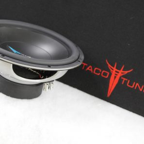 Toyota Tundra 12 inch subwoofer box ported