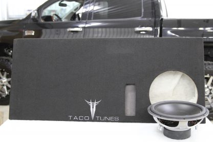 toyota tundras ported subwoofer box x2