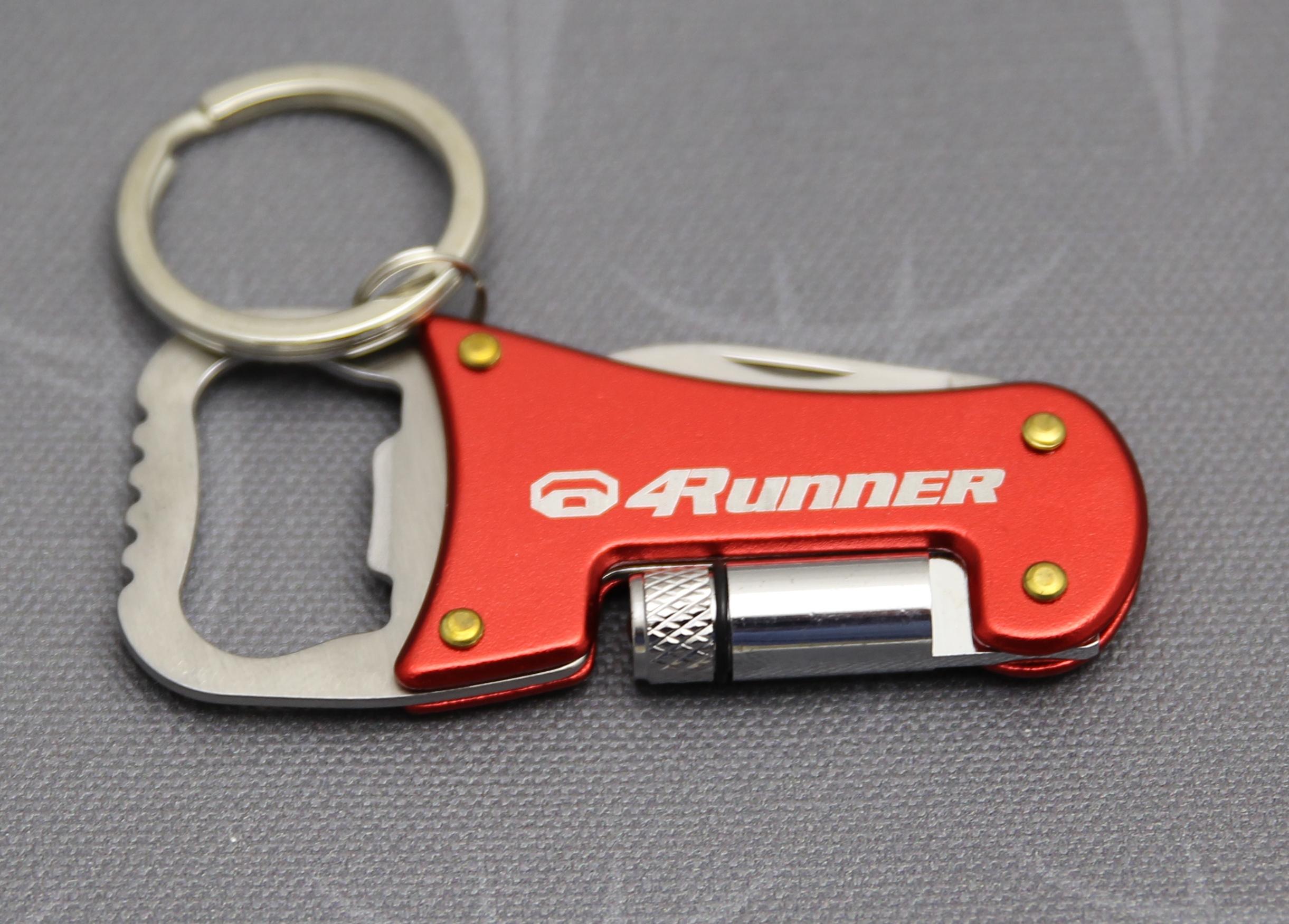 a7cb5a5add Toyota 4Runner Keychain Flashlight Box Opener Bottle Opener - Taco ...
