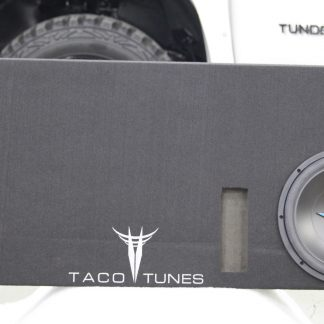 Toyota Tundra 12 inch ported subwoofer box