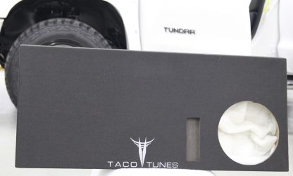 Toyota Tundra 12 inch ported subwoofer bo