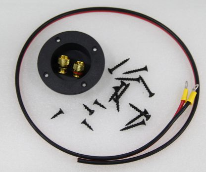 Subwoofer Terminal Cup & Install Hardware
