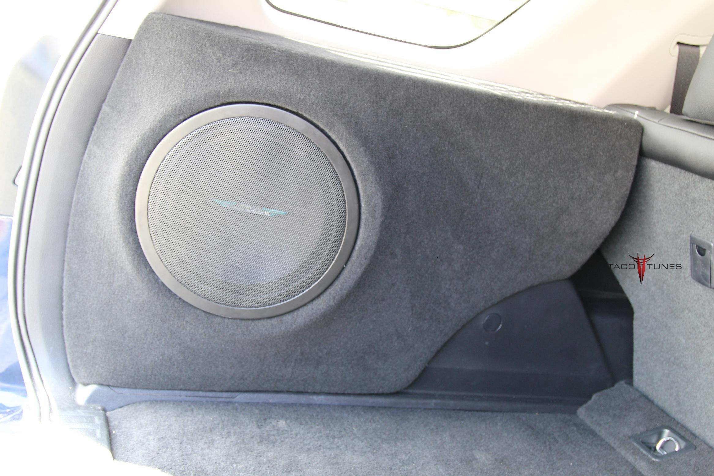 Toyota 4Runner Subwoofer Box fiberglass enclosure 12 inch
