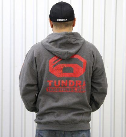 Toyota Tundra Hooded Full Ziipper Sweatshirt