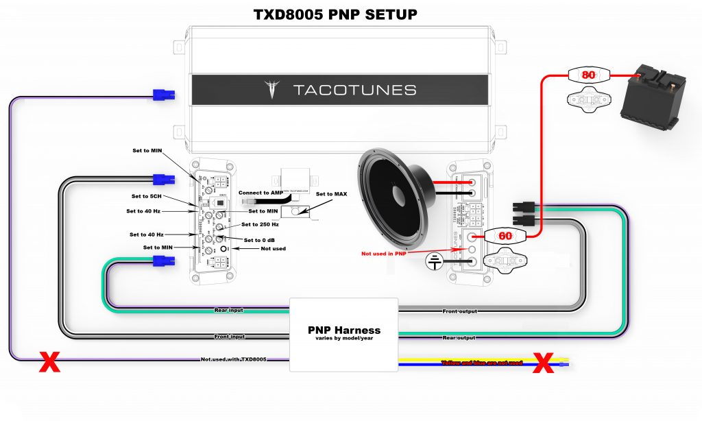 How to tune TXD8005