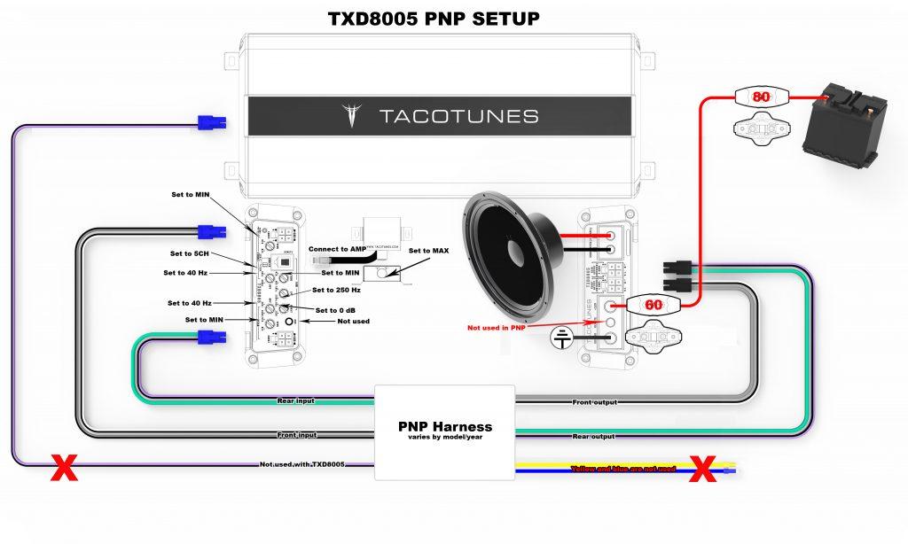 How to tune TXD8005