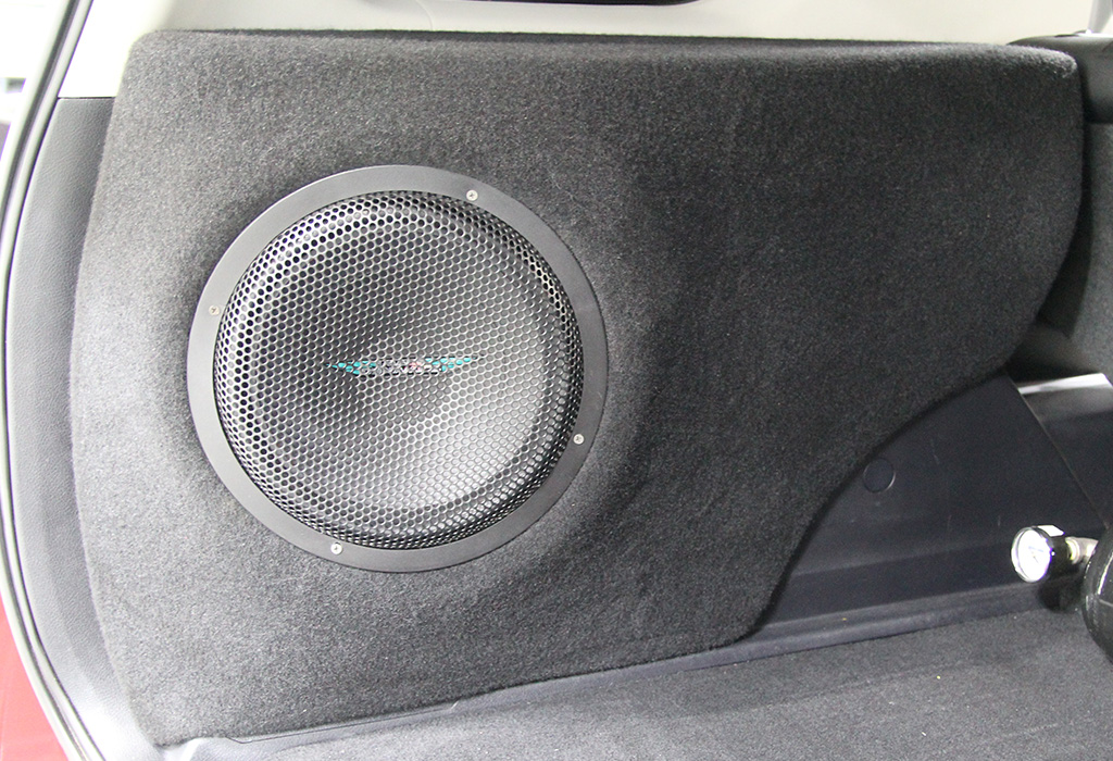 Toyota 4Runner 12 inch Ported Subwoofer enclosure