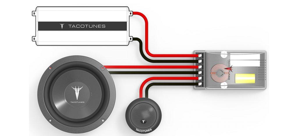 Toyota 4Runner Component Speakers Tweeters plug and play audio